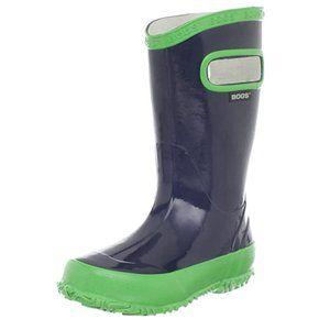 BOGS Unisex Kids Rubber Boot Waterproof Rain